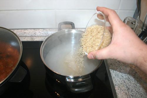 46 - Reis kochen / Cook rice