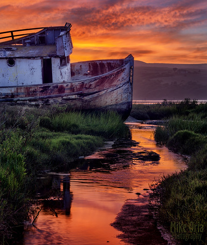california park sunset red sky orange lake seascape mike station night clouds sunrise point landscape photography bay boat fishing stream long exposure ship pentax marin sonoma vessel shipwreck medium format pt aground wreck wreckage inverness reyes olema 75mm oria smca 7528 645d pentax645d mikeoria