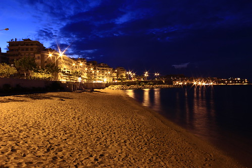 city sea night lights greece kavala καβαλα θαλασσα ελλαδα απο πολη φωτα νυχτα βραδυ ψηλα