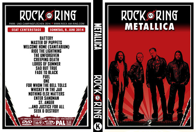 Metallica - Rock Am Ring 2014