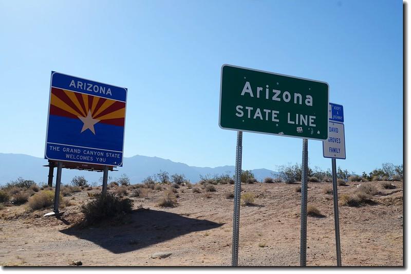 Nevada & Arizona State Line (I-15)