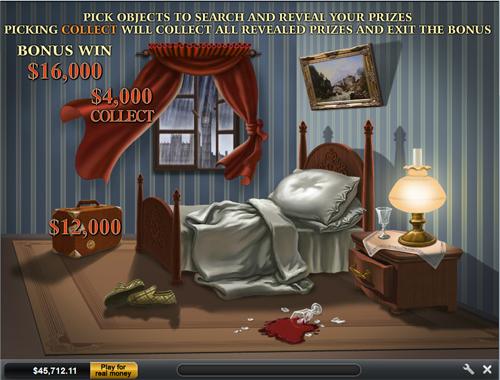 free Sherlock Mystery bonus game