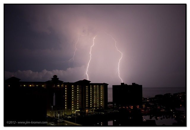 Lightning - Destin, FL | ©2011 - Jim Kramer
