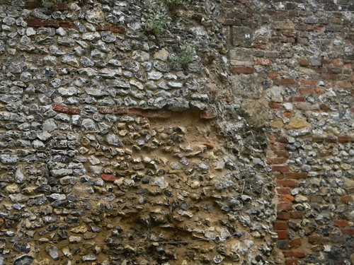 Old wall, Grey's Court