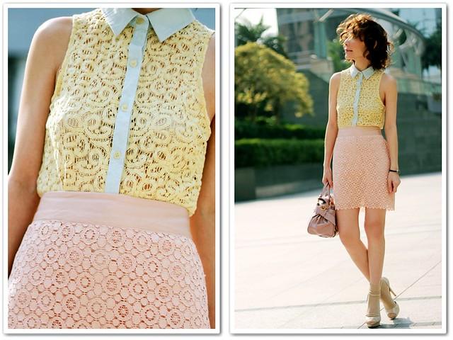 Pastels & Laces