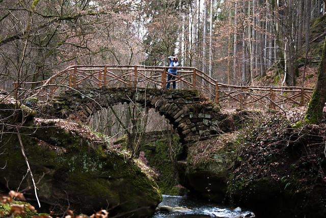 Steinbrücke am Schiessentümpel
