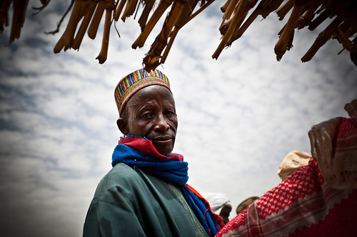 Hausa man from Inyelwa, South Niger