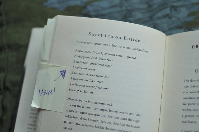 sweet lemon butter