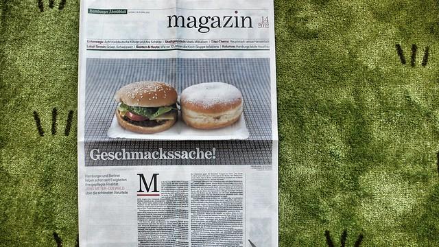 Hamburg und Berlin im Abendblatt