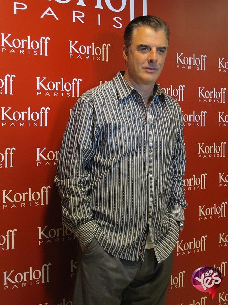 Chris Noth in Taiwan for Korloff