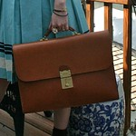 Schlesinger briefcase from tag sale