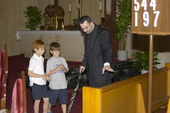 Rehearsal for Father Lafleur Mass - September 05, 2007