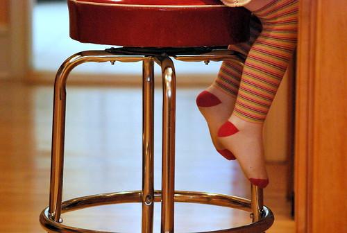 easter - sophie's feet