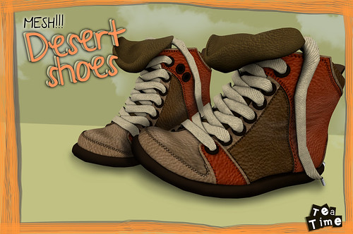 Desert Shoes *Tea Time* (Mesh) 80 L