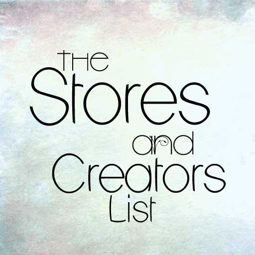 The Stores &Creators List