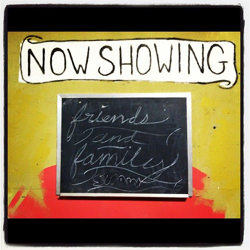 Friends & Family Show at the Scrap Exchange