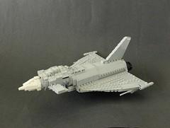 Eurofighter Typhoon Main by Lego Junkie.