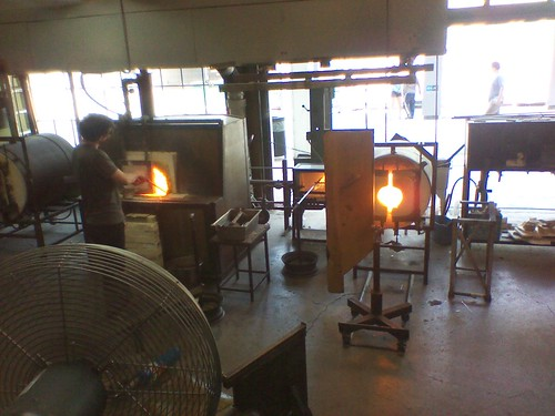 Glassblowing at the Harbourfront Centre (2)