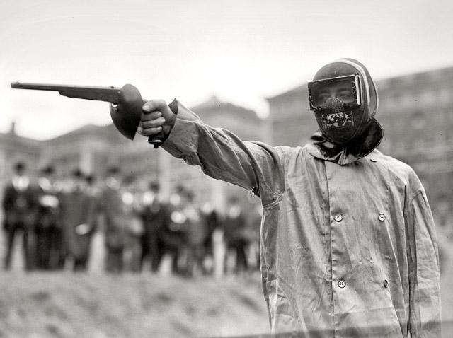 1909 ny duelling wax bullets