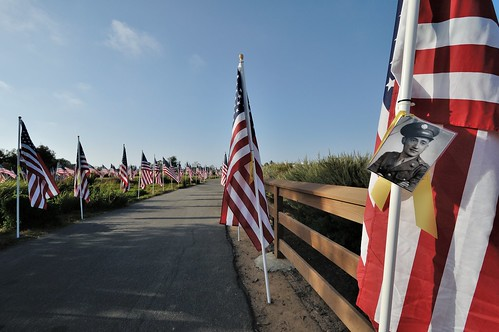 Field of Honor May 2012, Castaways Park, Newport Beach California