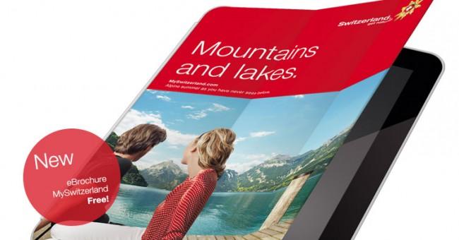 Aplikácia MySwitzerland pre iPad