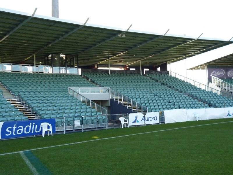 Aurora stadium temporary seating | Australian Seating Systems | Flickr
