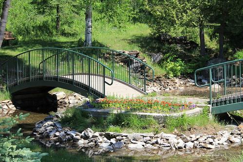 footbridge schumacherlionsparkandtrail
