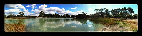 Autumn Pano At Police Paddocks