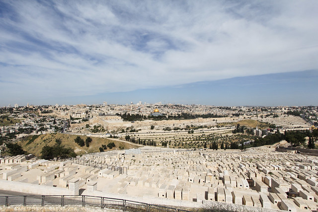 Jersusalem seen from the Mount of Olives
