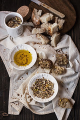 Dukkah, Oil and Bread