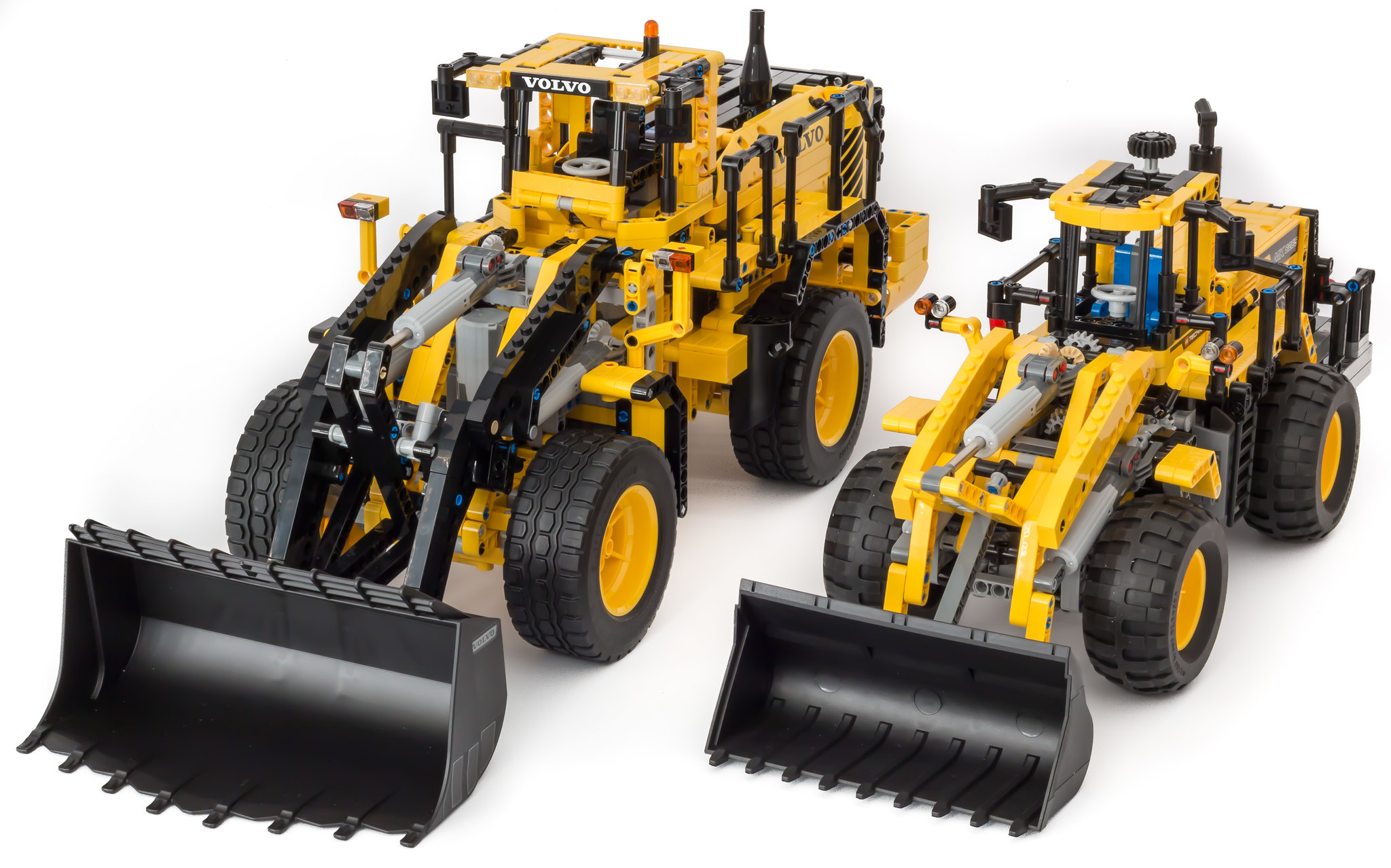 review 42030 volvo l350f wheel loader lego technic. Black Bedroom Furniture Sets. Home Design Ideas