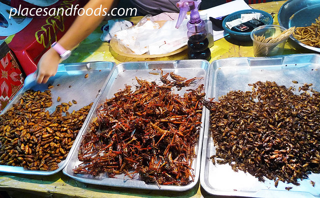 hatyai asean night market insects