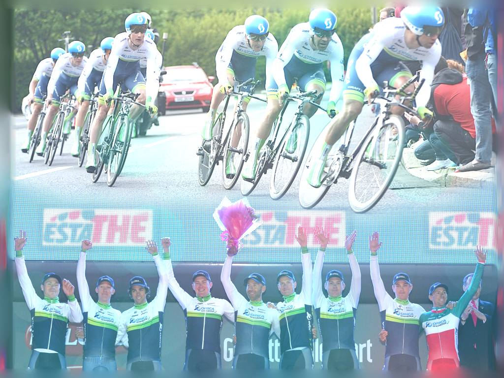 Wallpaper Orica GreenEDGE TTT Winners