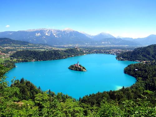 Бледское Озеро. Словения. Lake Bled. Slovenia