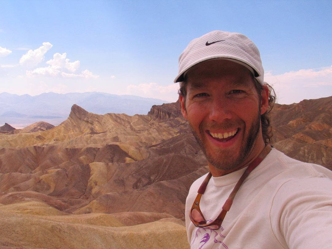 Aron Ralston in Death Valley
