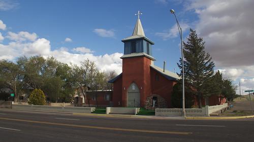 St. Mary's Parish Catholic Church, Vaughn, NM