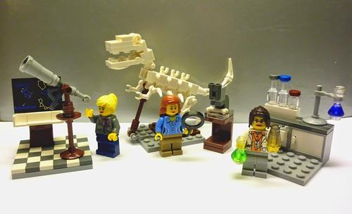 LEGO Ideas Research Institute 21110 D