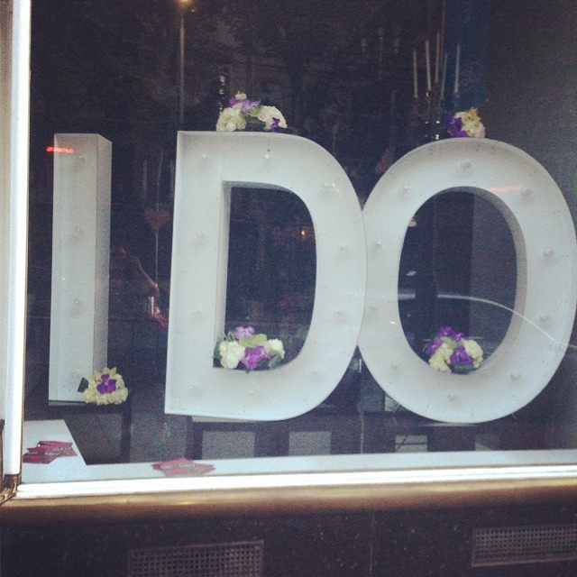 Wedding shop in Glasgow