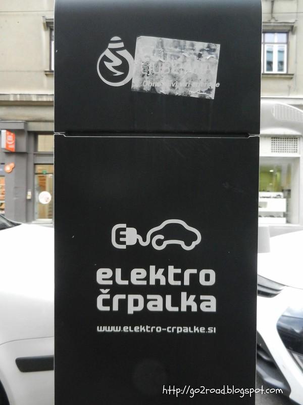 Электорзаправки Словении
