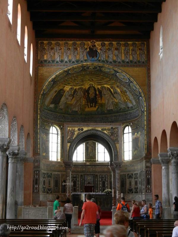 Знаменитая мозаика Евфразиевой Базилики