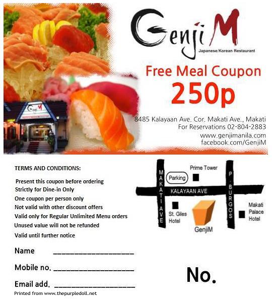 Genji coupons