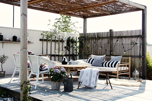 Creating my dream patio decor8 Relaxed backyard deck ideas