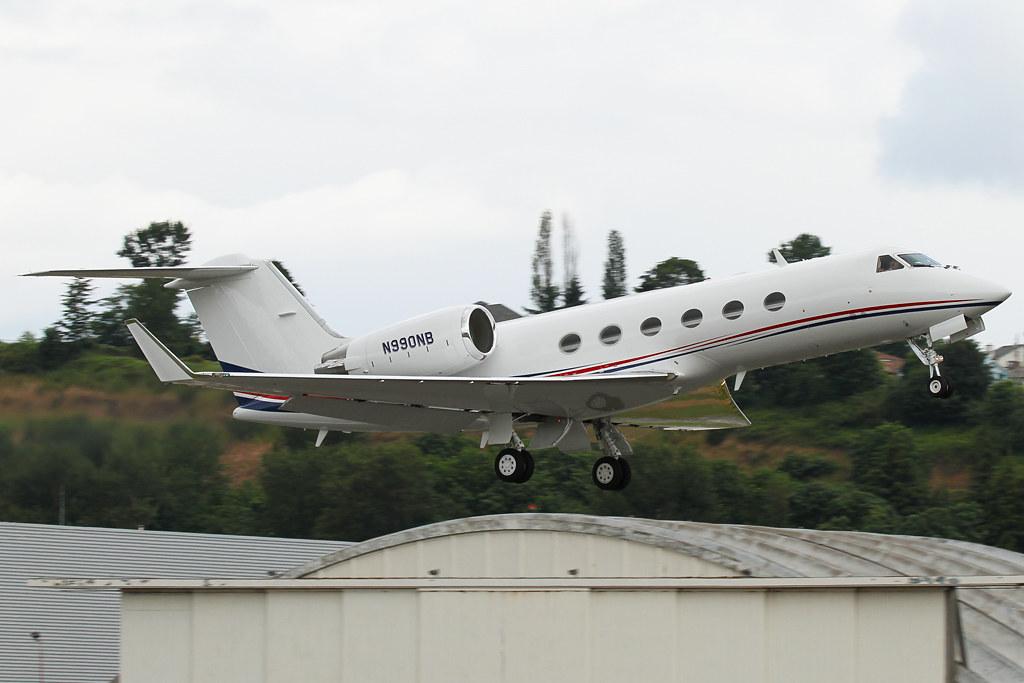 N990NB - GLF5 - Kabo Air