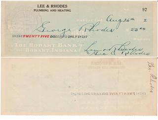 L R check 8-26-1922