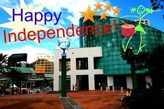 Aquarium happy independence