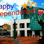 Aquarium happy independence