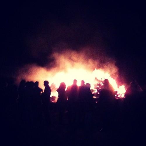 Hexenverbrennung.