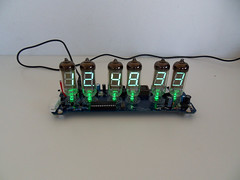 IV-11 VFD tube Clock March 2012