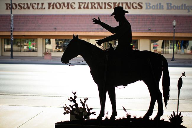 finally a cowboy silhouette