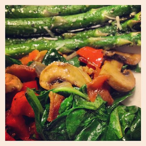 Love veggies!! #paleo #primal